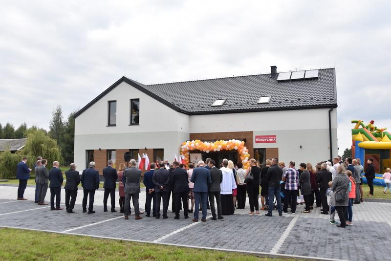 DSC 0702 Uroczyste otwarcie Centrum Kulturalno   Społecznego w Morzychnie