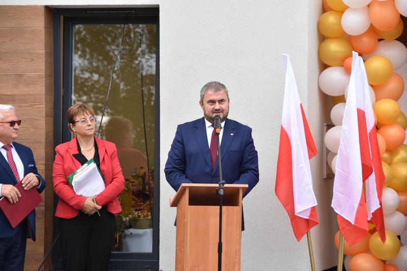 DSC 0707 Uroczyste otwarcie Centrum Kulturalno   Społecznego w Morzychnie