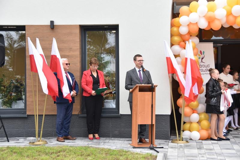 DSC 0726 Uroczyste otwarcie Centrum Kulturalno   Społecznego w Morzychnie