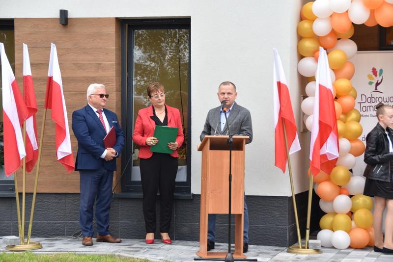 DSC 0730 Uroczyste otwarcie Centrum Kulturalno   Społecznego w Morzychnie