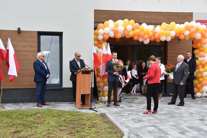DSC 0738 Uroczyste otwarcie Centrum Kulturalno   Społecznego w Morzychnie