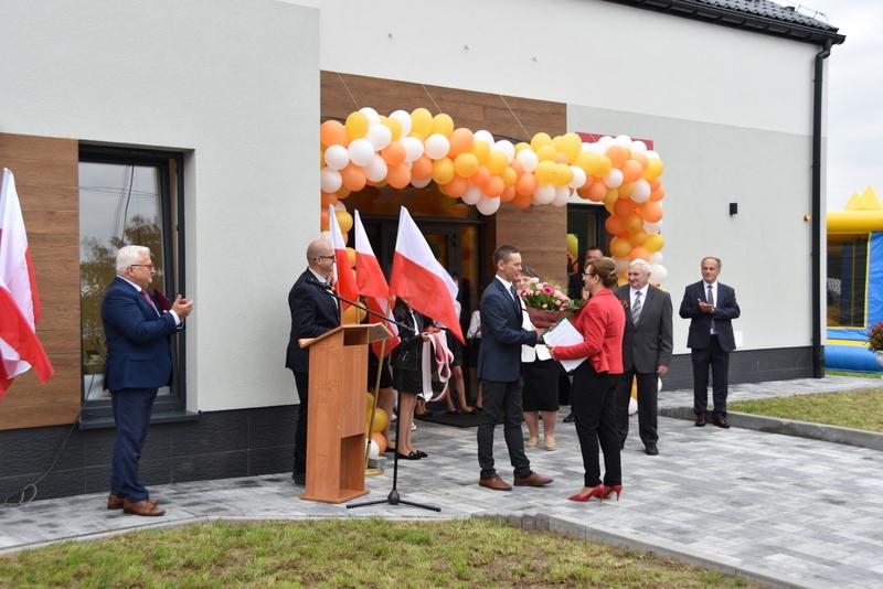 DSC 0742 Uroczyste otwarcie Centrum Kulturalno   Społecznego w Morzychnie