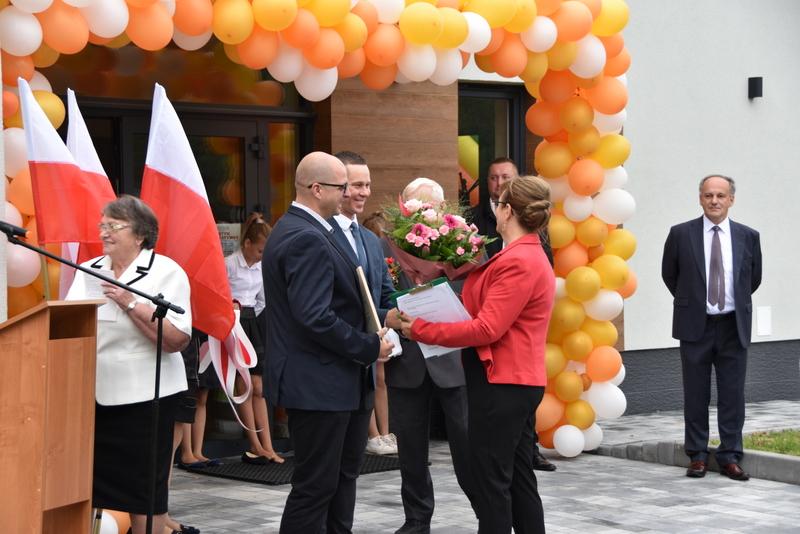 DSC 0746 Uroczyste otwarcie Centrum Kulturalno   Społecznego w Morzychnie