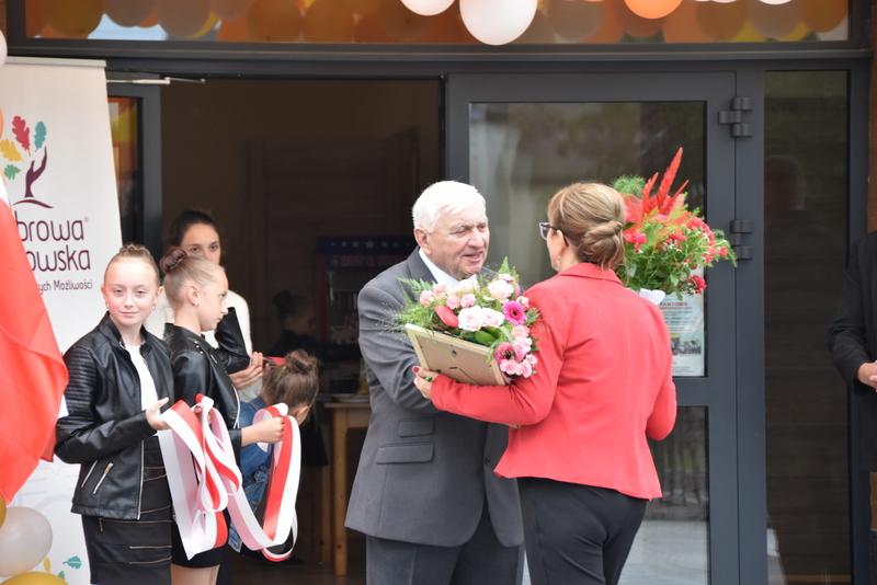 DSC 0753 Uroczyste otwarcie Centrum Kulturalno   Społecznego w Morzychnie