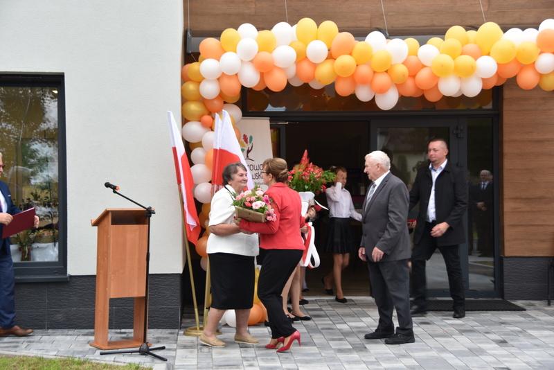 DSC 0755 Uroczyste otwarcie Centrum Kulturalno   Społecznego w Morzychnie