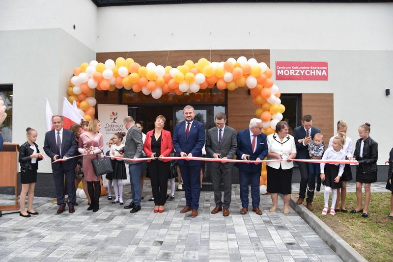 DSC 0759 Uroczyste otwarcie Centrum Kulturalno   Społecznego w Morzychnie