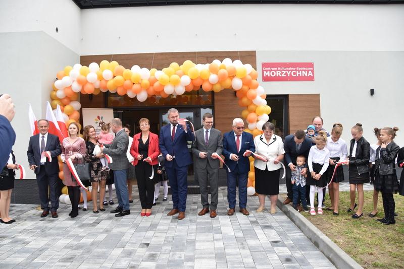 DSC 0772 Uroczyste otwarcie Centrum Kulturalno   Społecznego w Morzychnie