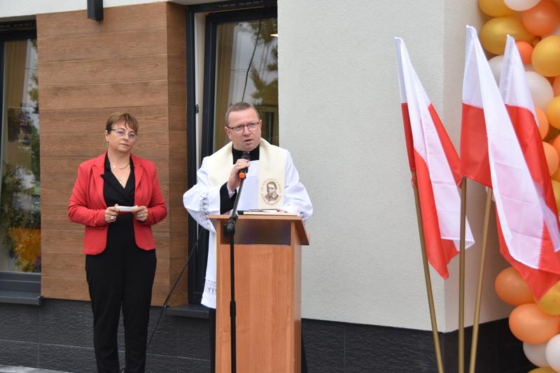 DSC 0785 Uroczyste otwarcie Centrum Kulturalno   Społecznego w Morzychnie