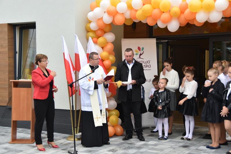 DSC 0790 Uroczyste otwarcie Centrum Kulturalno   Społecznego w Morzychnie
