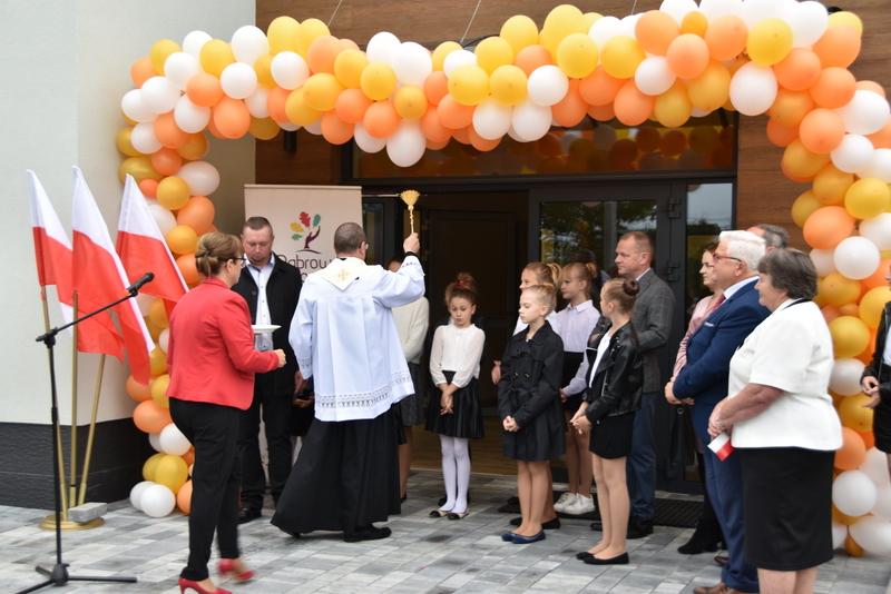 DSC 0793 Uroczyste otwarcie Centrum Kulturalno   Społecznego w Morzychnie