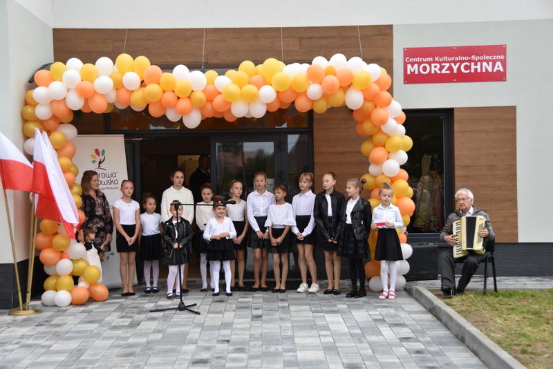 DSC 0798 Uroczyste otwarcie Centrum Kulturalno   Społecznego w Morzychnie