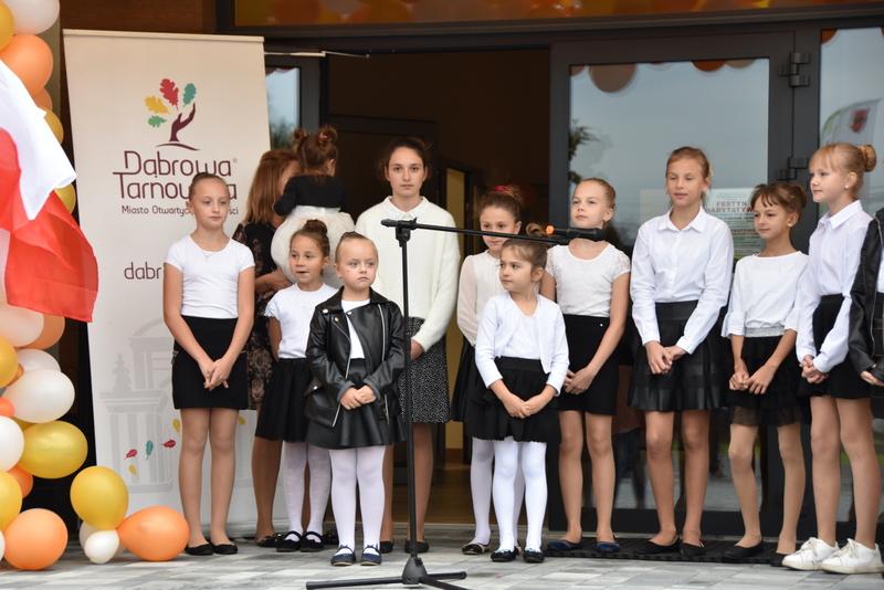 DSC 0803 Uroczyste otwarcie Centrum Kulturalno   Społecznego w Morzychnie