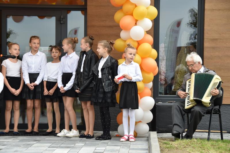 DSC 0804 Uroczyste otwarcie Centrum Kulturalno   Społecznego w Morzychnie