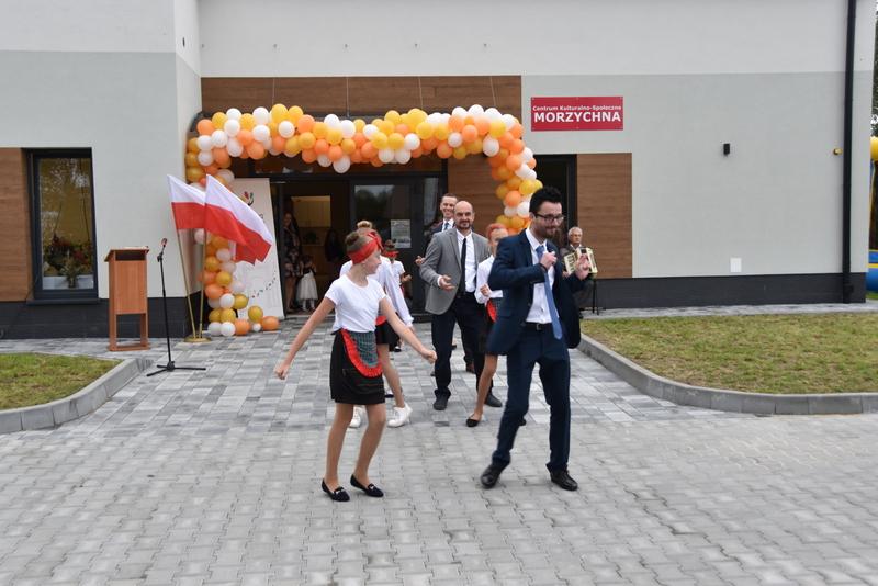 DSC 0805 Uroczyste otwarcie Centrum Kulturalno   Społecznego w Morzychnie