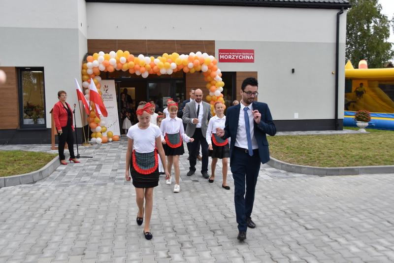 DSC 0806 Uroczyste otwarcie Centrum Kulturalno   Społecznego w Morzychnie