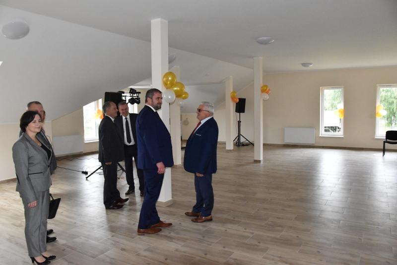 DSC 0818 Uroczyste otwarcie Centrum Kulturalno   Społecznego w Morzychnie