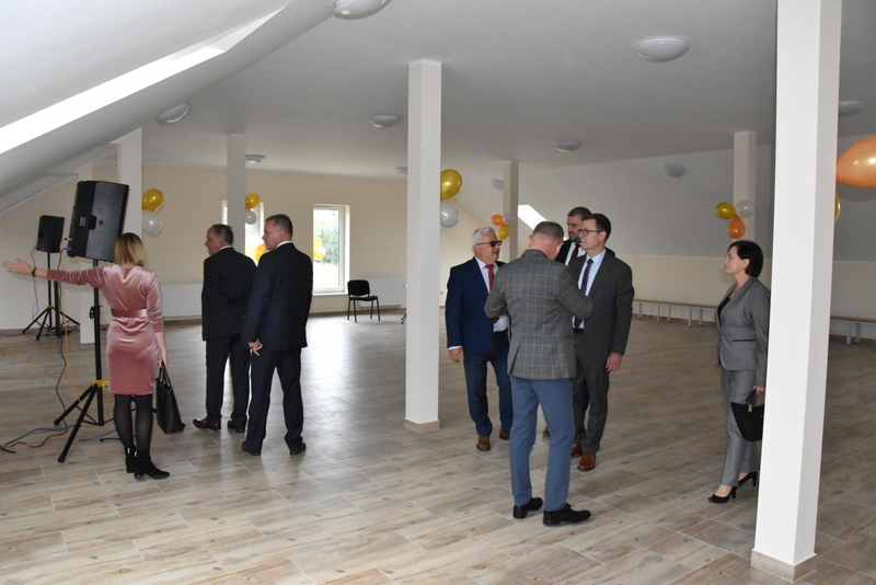 DSC 0823 Uroczyste otwarcie Centrum Kulturalno   Społecznego w Morzychnie
