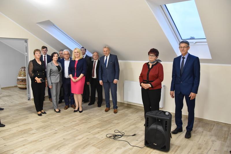DSC 0864 Uroczyste otwarcie Centrum Kulturalno   Społecznego w Morzychnie