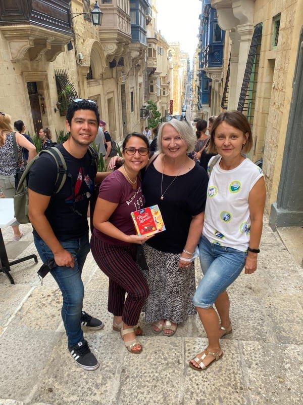Erasmus 10 Relacja ze szkolenia nauczycieli w ramach programu POWER SE Mobilność kadry edukacji szkolnej na Malcie