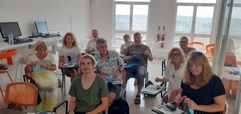 Erasmus 11 Relacja ze szkolenia nauczycieli w ramach programu POWER SE Mobilność kadry edukacji szkolnej na Malcie