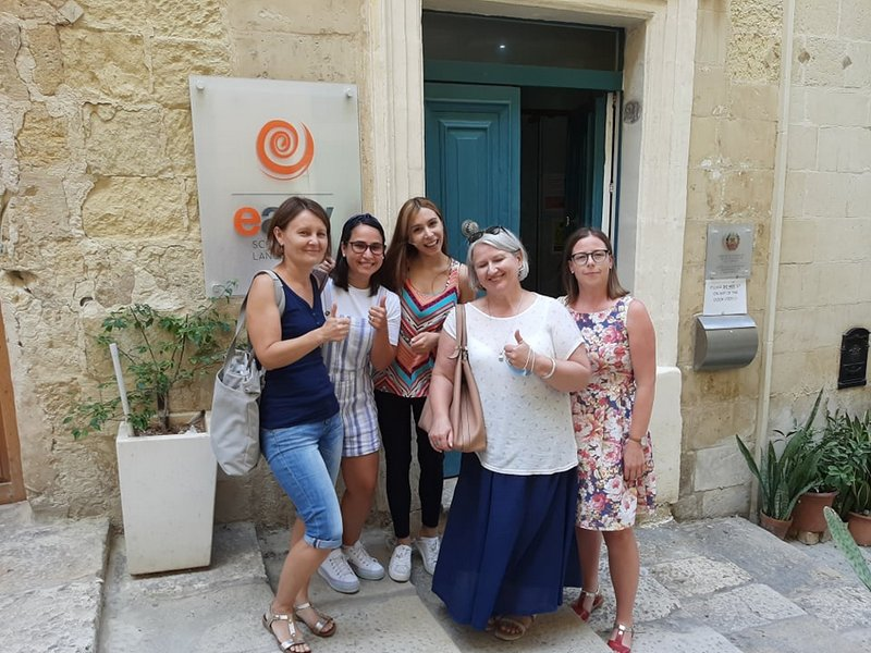 Erasmus 8 Relacja ze szkolenia nauczycieli w ramach programu POWER SE Mobilność kadry edukacji szkolnej na Malcie