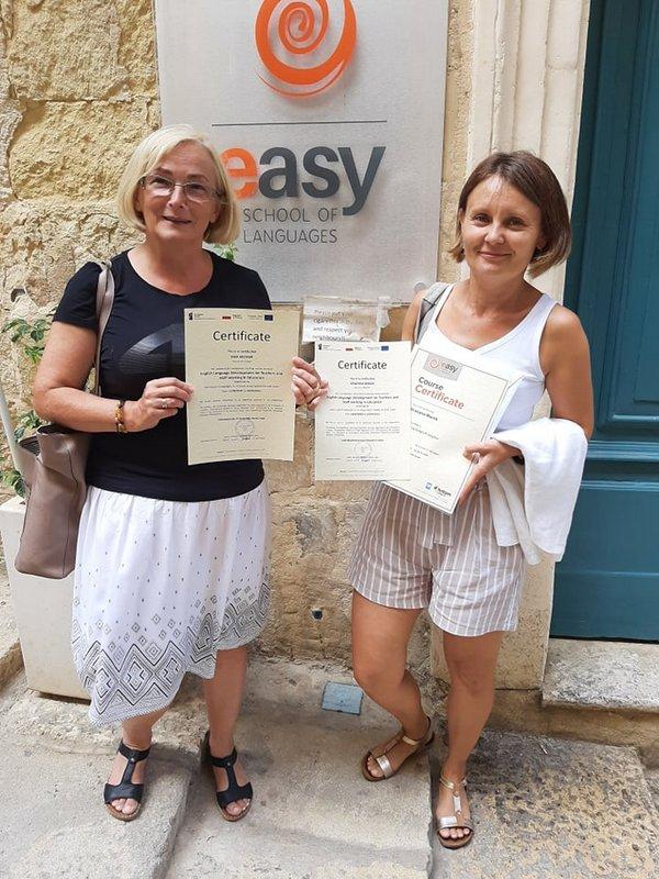 Erasmus 9 Relacja ze szkolenia nauczycieli w ramach programu POWER SE Mobilność kadry edukacji szkolnej na Malcie