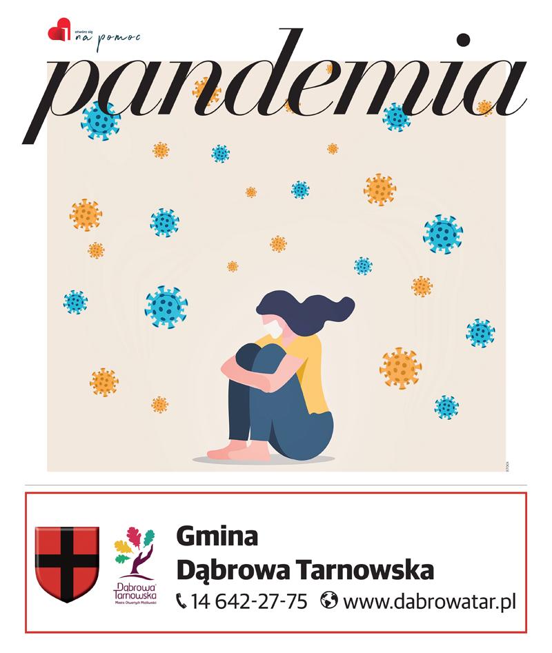 Otwórz się na pomoc Gmina Dąbrowa Tarnowska 20211 Gmina Dąbrowa Tarnowska włączyła się do projektu Otwórz się na pomoc