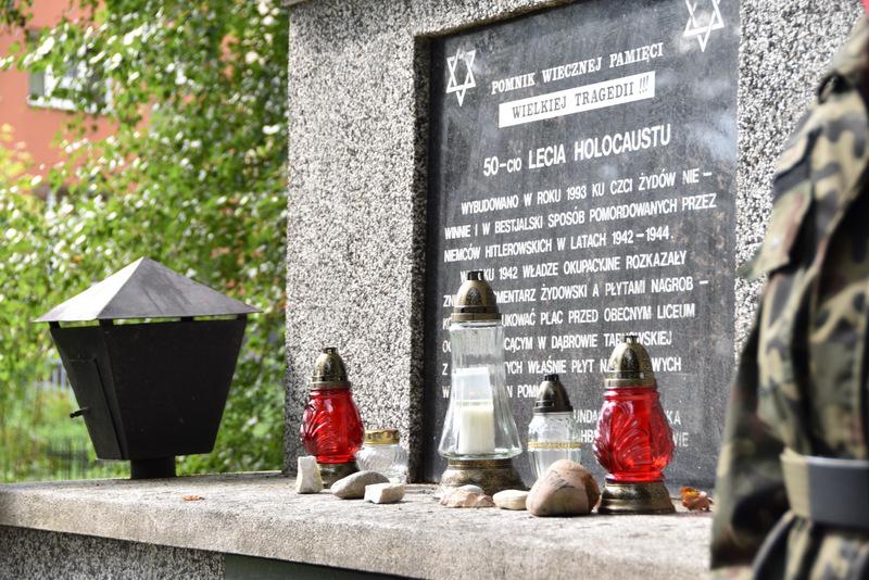 Upamiętnienie wywozy Żydów DT2021 5 Upamiętnienie tragicznych wydarzeń w historii miasta