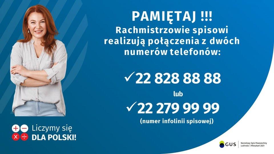 nsplim2021   numery telefonow polaczen od rachmistrzow Trwa Narodowy Spis Powszechny! Spisz się nie zwlekaj!